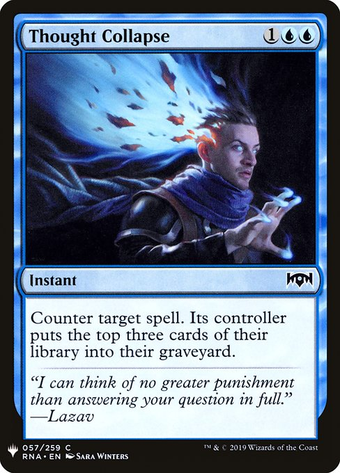 Thought Collapse (MB1)