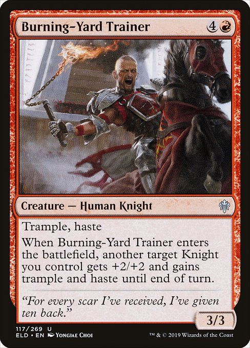 Burning-Yard Trainer (ELD)
