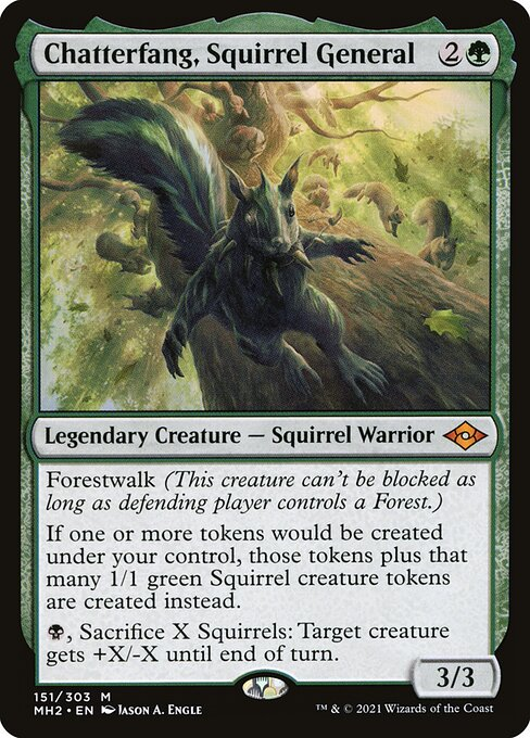 Chatterfang, Squirrel General (MH2)
