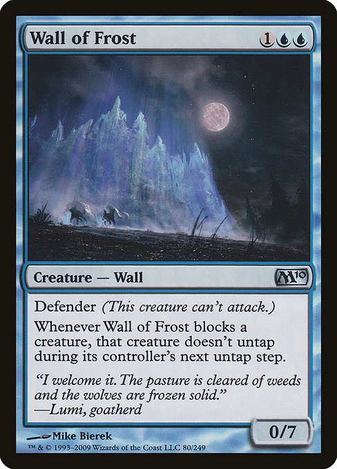 Wall of Frost (M10)