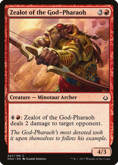 Zealot of the God-Pharaoh (HOU)