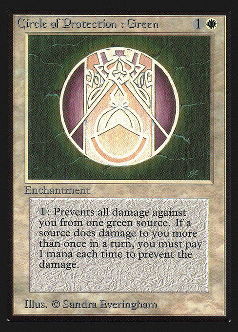 Circle of Protection: Green (CEI)