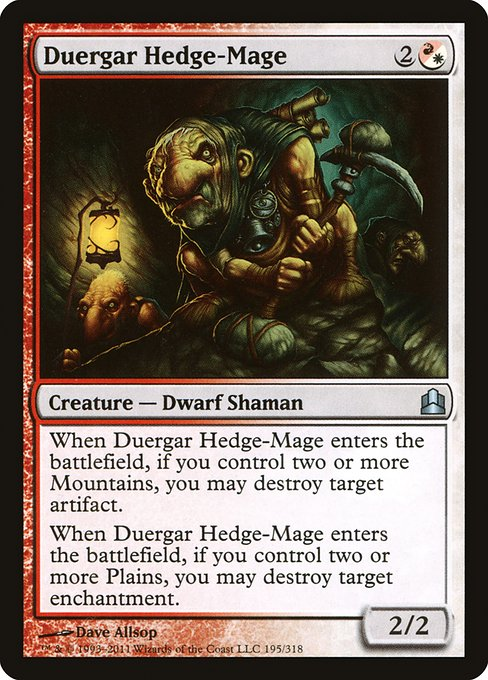 Duergar Hedge-Mage (CMD)
