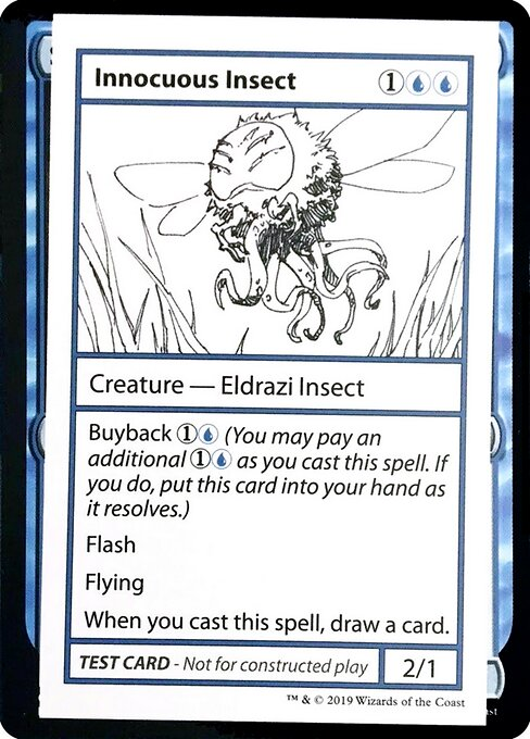 Innocuous Insect