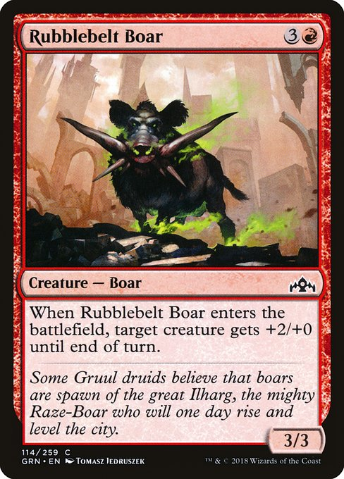 Rubblebelt Boar (GRN)