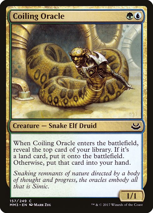 Coiling Oracle (MM3)