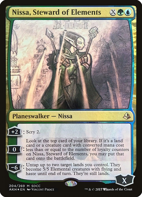 Nissa, Steward of Elements (PS17)