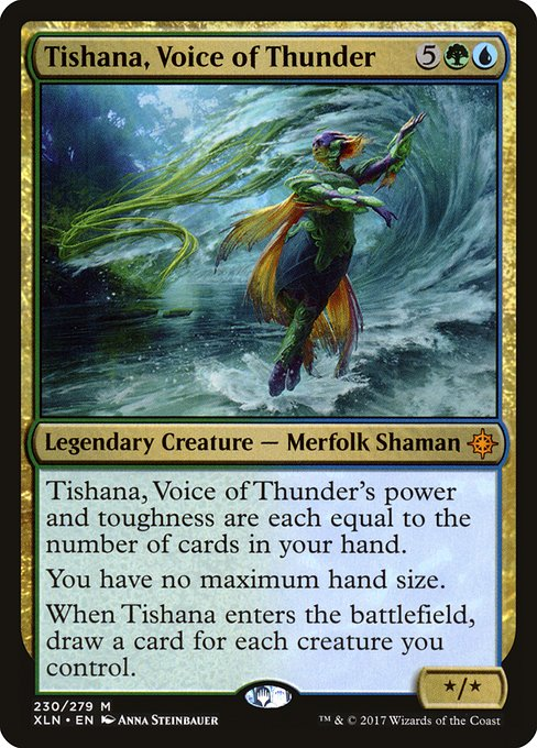 Tishana, Voice of Thunder (XLN)