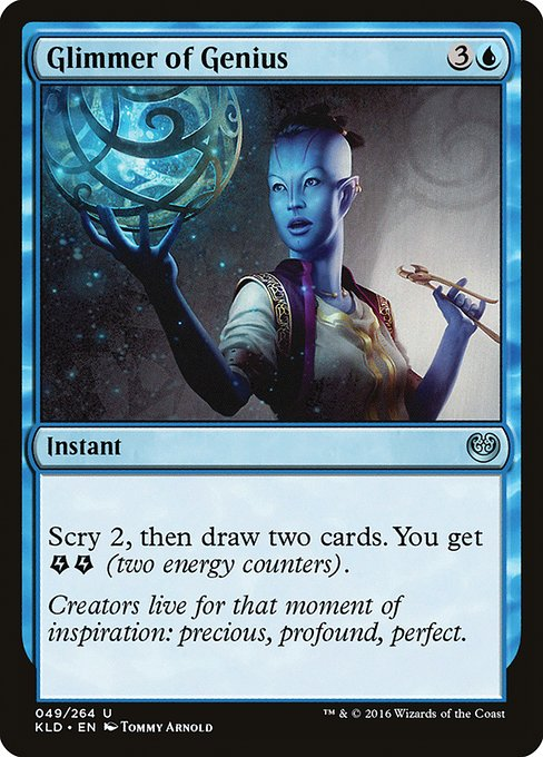 Glimmer of Genius (KLD)