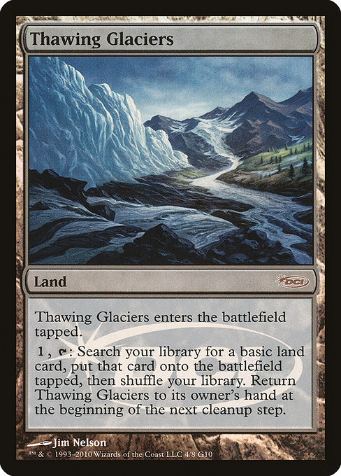 Thawing Glaciers (G10)