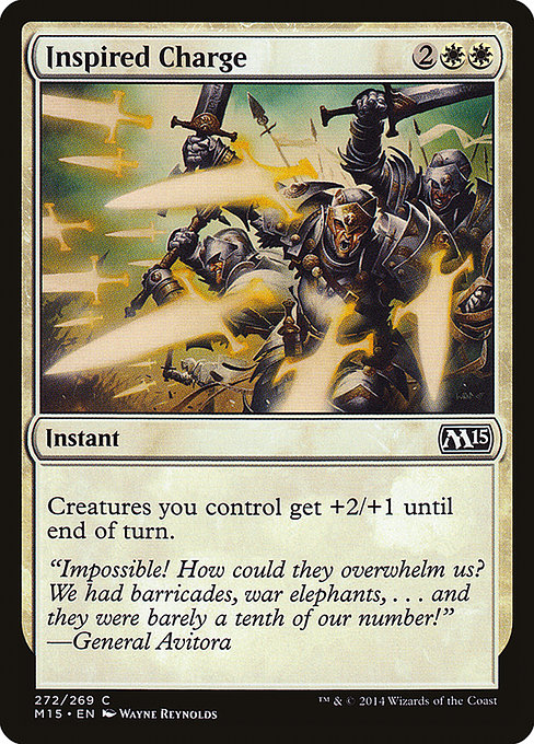 Inspired Charge (M15)