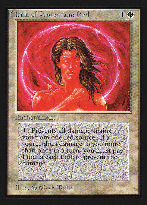 Circle of Protection: Red (CED)