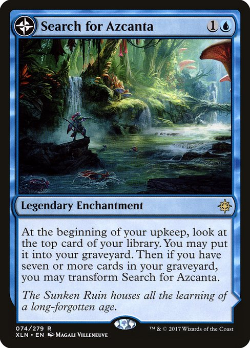 Search for Azcanta // Azcanta, the Sunken Ruin (XLN)
