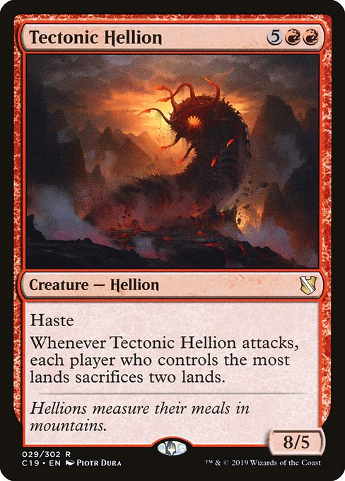 Tectonic Hellion (C19)