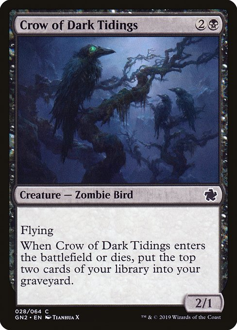 Crow of Dark Tidings (GN2)