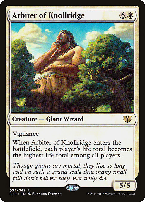Arbiter of Knollridge (C15)