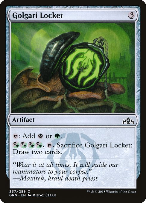 Golgari Locket (GRN)