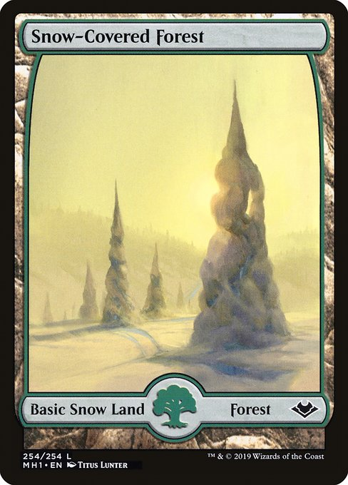 Snow-Covered Forest (MH1)