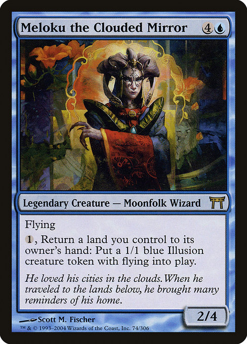Meloku the Clouded Mirror (CHK)