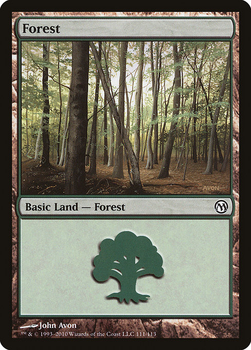 Forest - Duels of the Planeswalkers