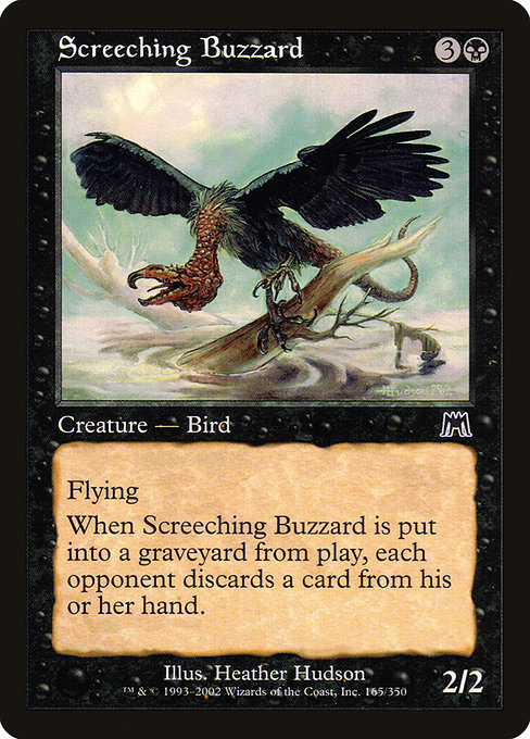Screeching Buzzard (ONS)