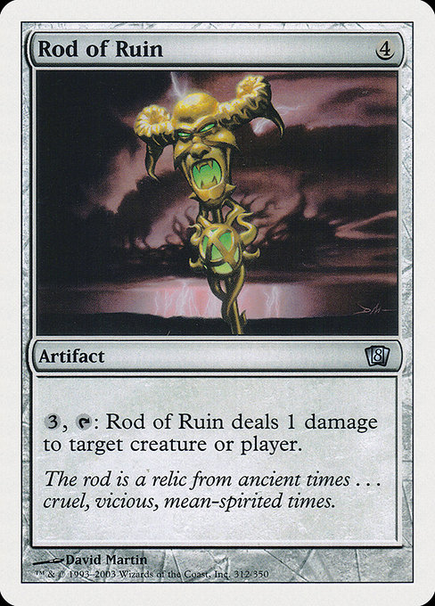Rod of Ruin (8ED)