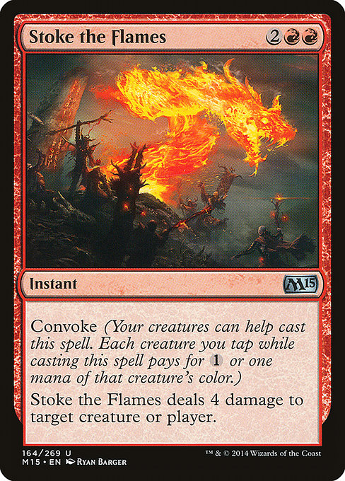 Stoke the Flames (M15)