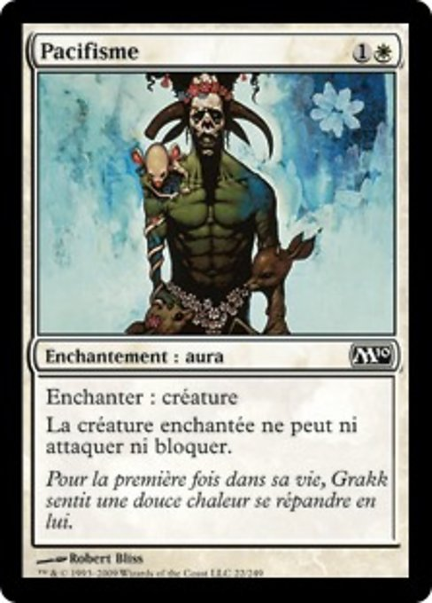 Pacifism (M10)