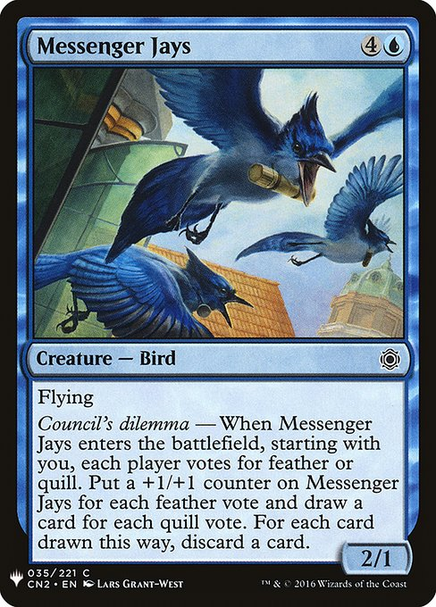 Messenger Jays (MB1)