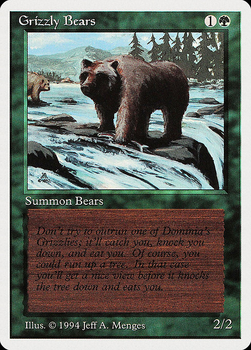 Grizzly Bears (SUM)