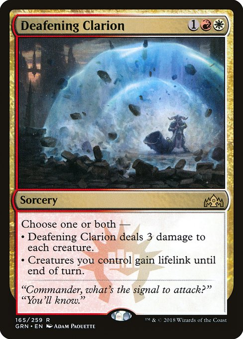 Deafening Clarion (GRN)