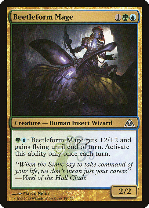 Beetleform Mage (DGM)