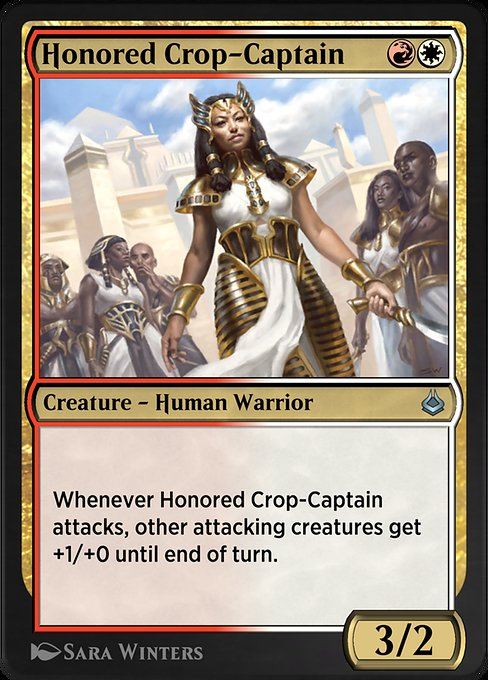 Honored Crop-Captain (AKR)