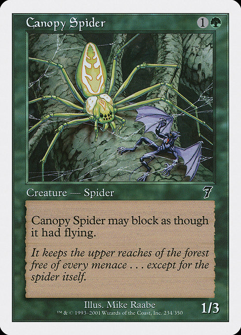 Canopy Spider (7ED)