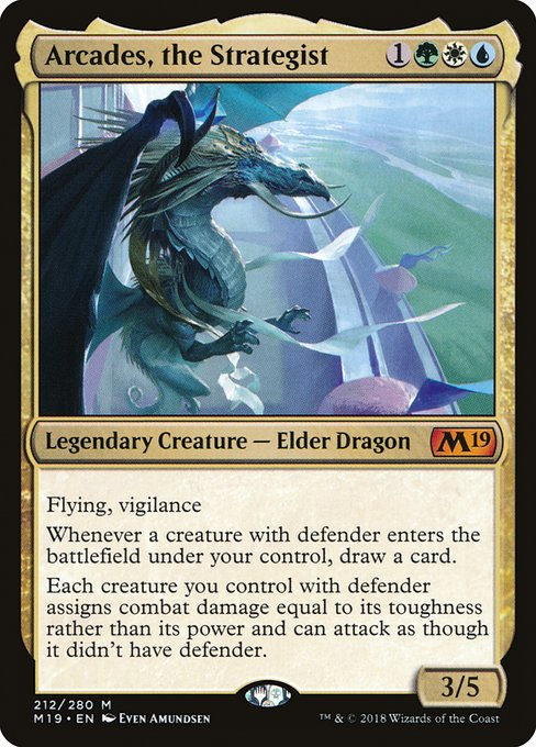 Arcades, the Strategist (M19)
