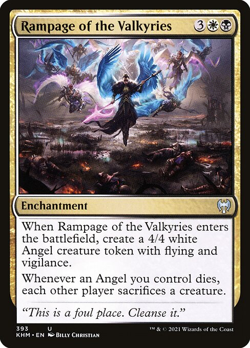 Rampage of the Valkyries (KHM)