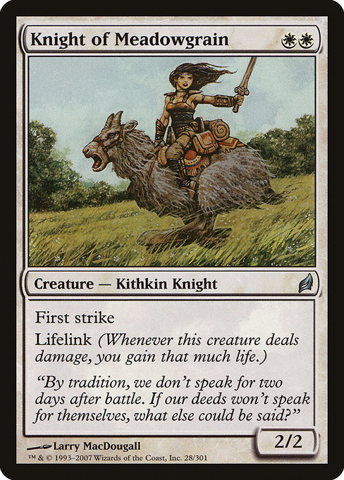Knight of Meadowgrain (LRW)
