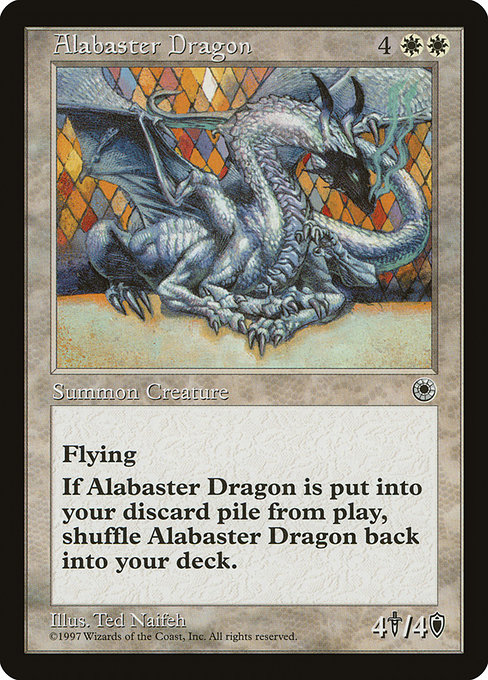 Alabaster Dragon (POR)