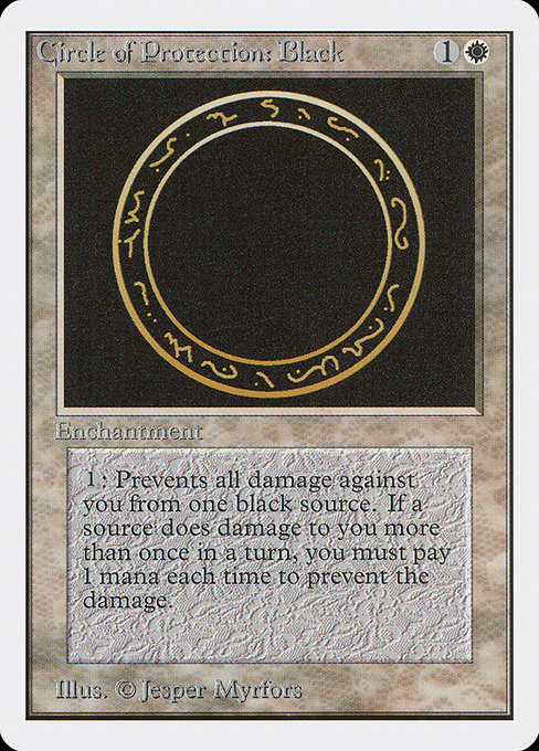 Circle of Protection: Black (2ED)
