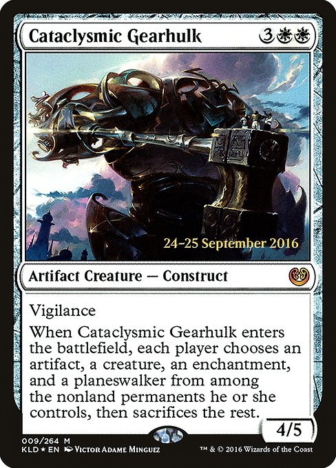 Cataclysmic Gearhulk (PKLD)