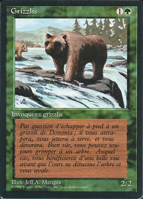 Grizzly Bears (FBB)