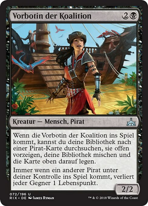 Forerunner of the Coalition (RIX)