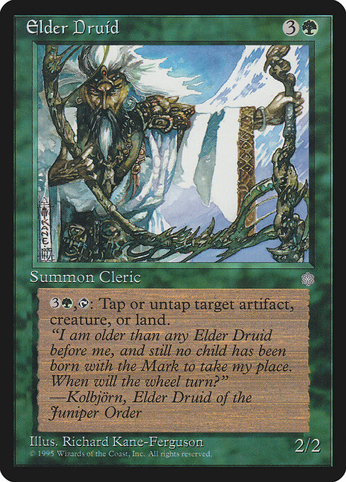 Elder Druid (ICE)