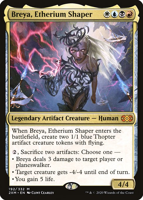 Breya, Etherium Shaper (2XM)
