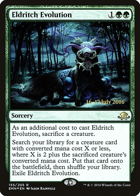Eldritch Evolution (PEMN)