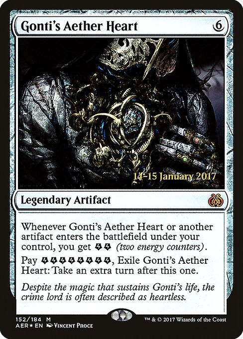 Gonti's Aether Heart (PAER)