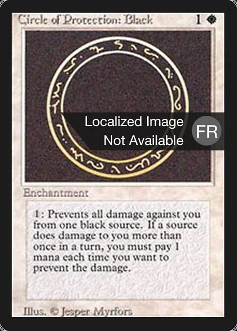 Circle of Protection: Black (FBB)