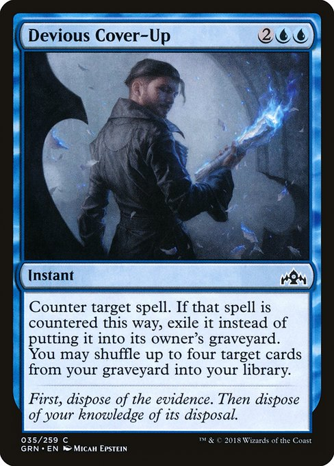 Devious Cover-Up (GRN)