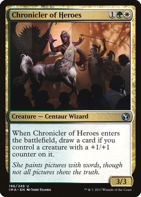 Chronicler of Heroes (IMA)