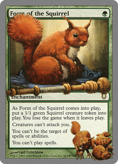 Form of the Squirrel (UNH)